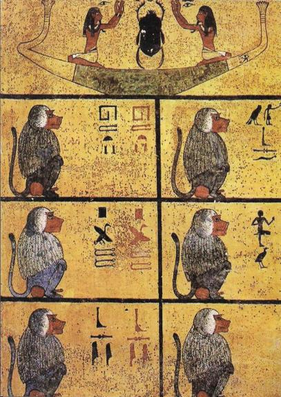 monkey - tutenkhamun