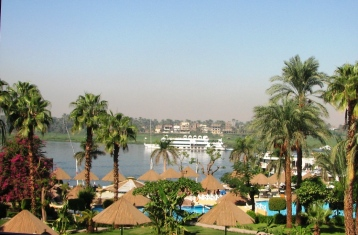Pleasure Boat Cruising on the Nile