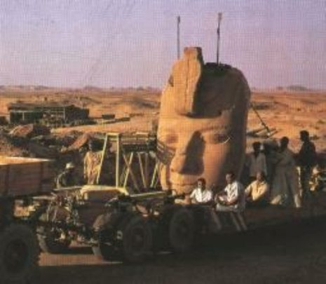 ABU SIMBEL MOVE