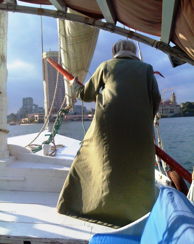 Pushing Feluccas on the Nile