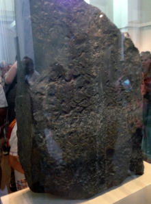 Bach of Stele - it has not decoration because it was only seen from the front