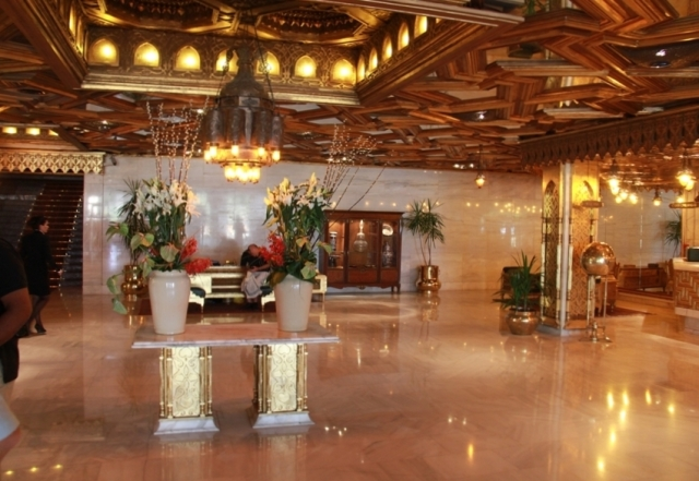 Reception Hall at the Mena House